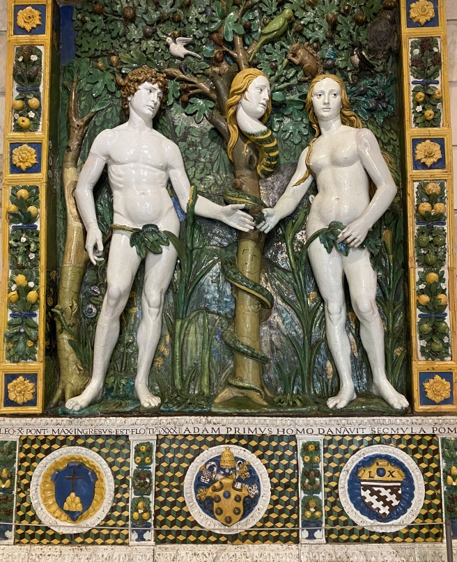 Adam and Eve at the Walters Art Museum - the last thing I saw before my fall