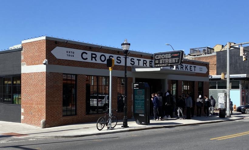 Cross Street Market in Federal Hill, Baltimore