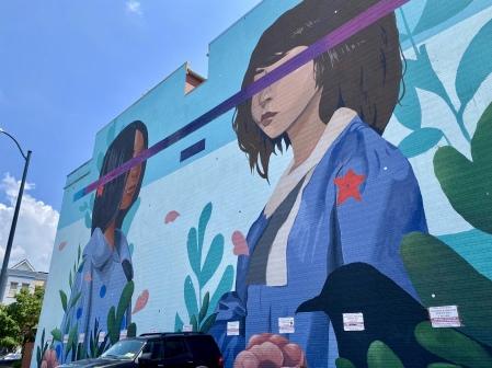 D.C. murals