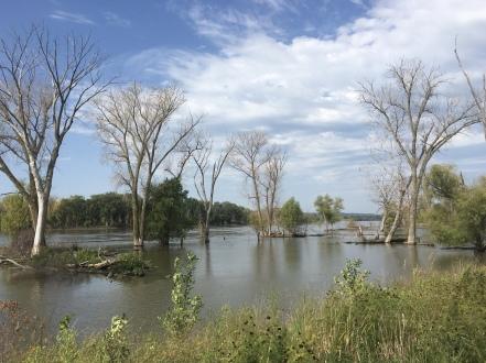 DeSoto National Wildlife Refuge - The Missouri River