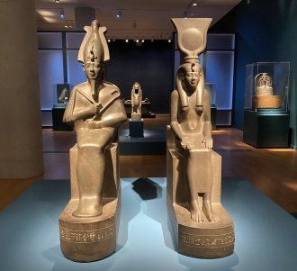 Egypt exhibit at the VMFA