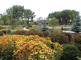 International Peace Garden in North Dakota/Canada