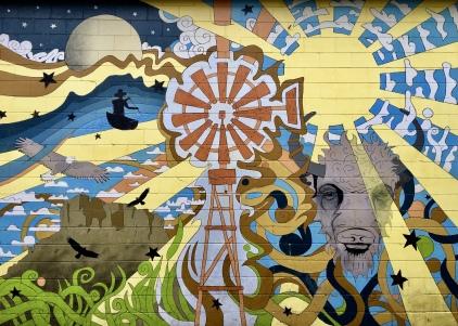 murals in Bismarck, North Dakota