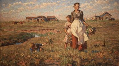"""""""The Prairie is My Garden"""" by Harvey Dunn"""