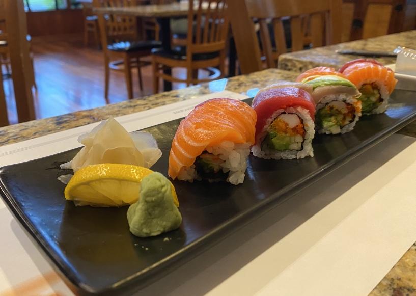 sushi at Ariake
