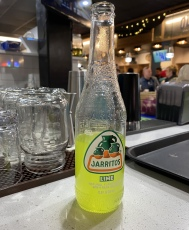 Lime Jarritos at Taco Love Grill