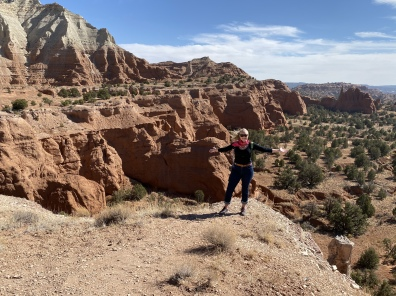 Ariana at Kodachrome Basin State Park