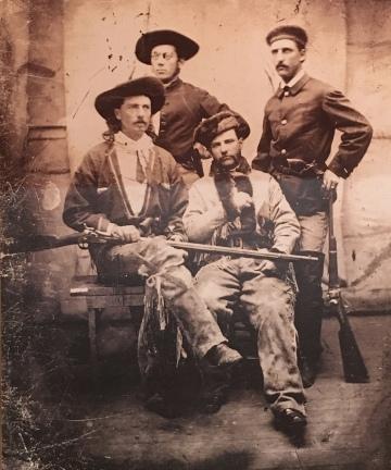 Bill Cody on the Pony Express
