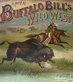 Posters for the Buffalo Bill Wild West Show