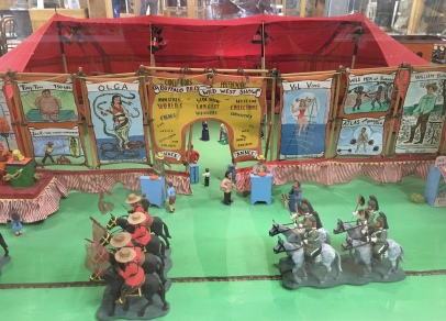 Miniature Buffalo Bill's Wild West Show