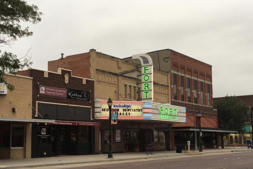 movie theater turned dentist office in Kearney