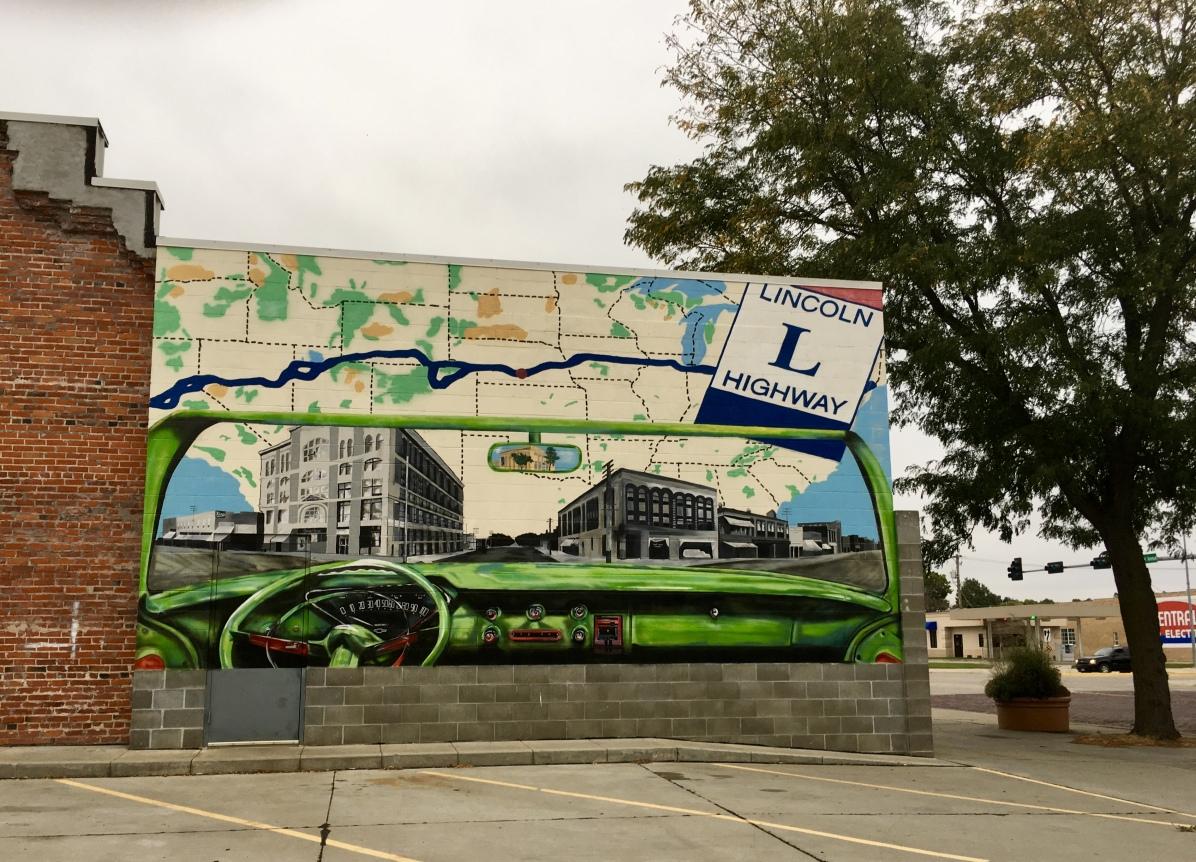 mural in Kearney