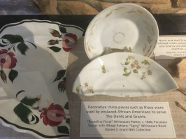 Decorative china pieces
