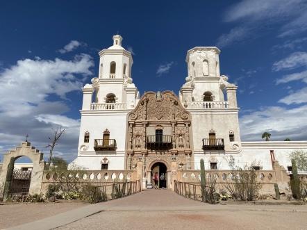 Mission San Xavier del Bac, Tucson, AZ