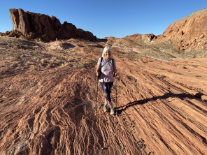me at Valley of Fire State Park, Nevada