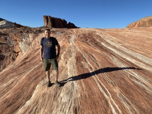 Mike at Valley of Fire State Park, Nevada