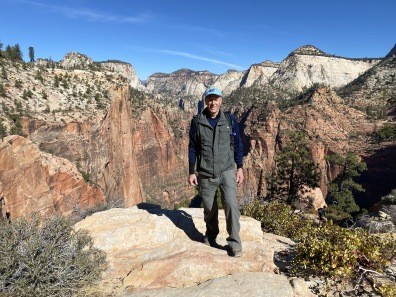 Mike at Zion National Park
