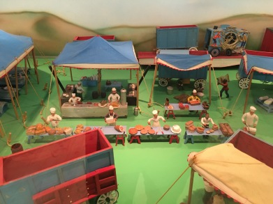 Miniature Buffalo Bill's Wild West Show