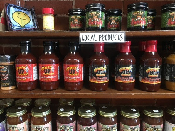 goodies inside Makanda's shops