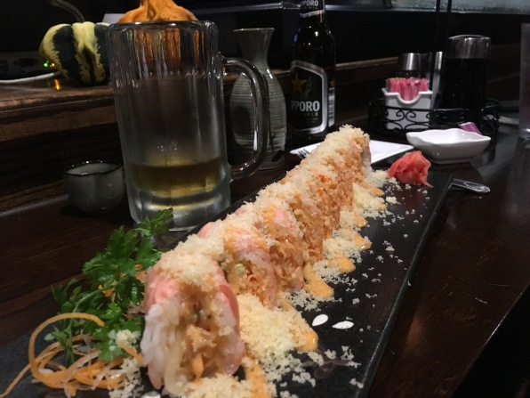 Pink Lady Roll at Fujiyama Restaurant