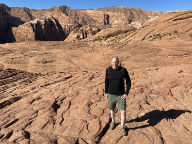 Mike at Snow Canyon State Park