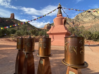 Amitabha Stupa, Sedona, AZ