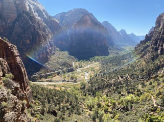 Angels Landing viewpoint - Zion National Park