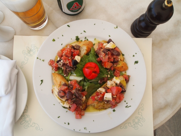 bruschetta lunch