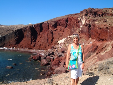 me at Red Beach