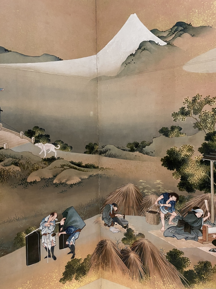 Country Scenes and Mount Fuji by Hokusai at the Sackler