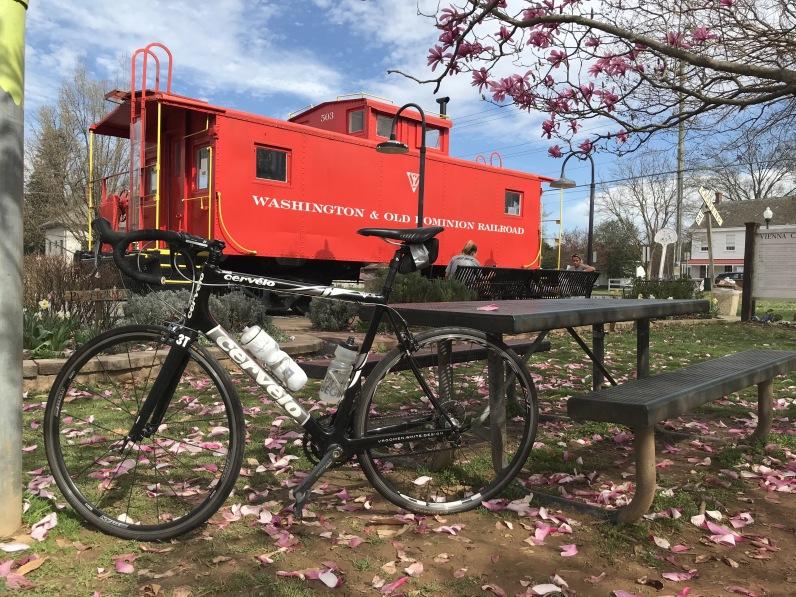 Mike's bikeride 3/20
