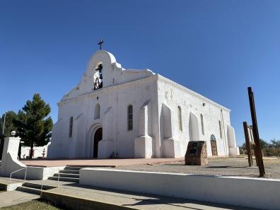 Ysleta Mission in El Paso, TX