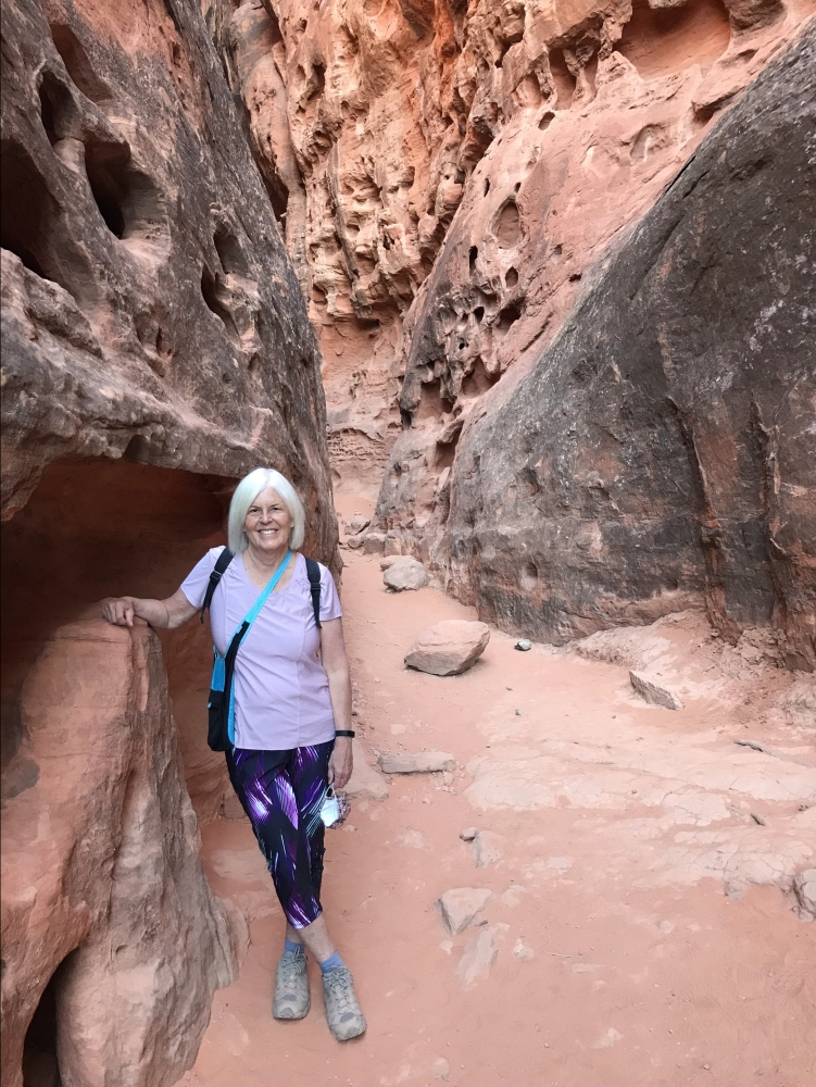 me at Snow Canyon State Park